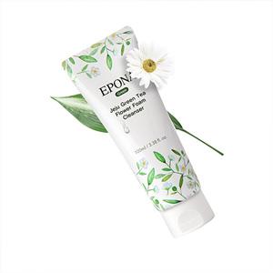 Jeju Green Tea Flower Foam Cleanser
