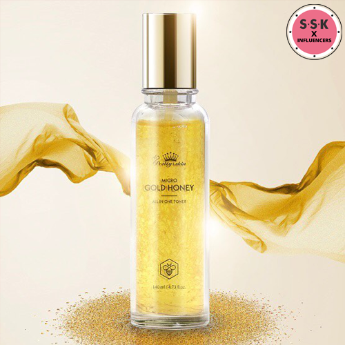 Micro Gold Honey All In One Toner