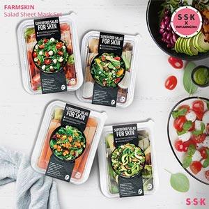 Superfood Salad Sheet Mask Box